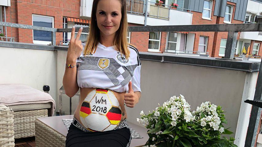 Nach Krankenhaus: Bald-Mama Denise Kappès im WM-Fieber