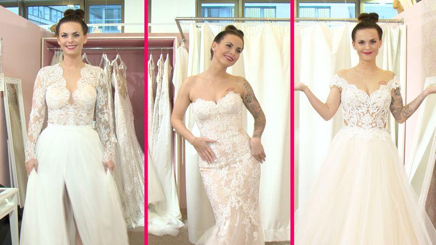3 Brautkleider: In welchem heiratet Denise ihren Pascal?