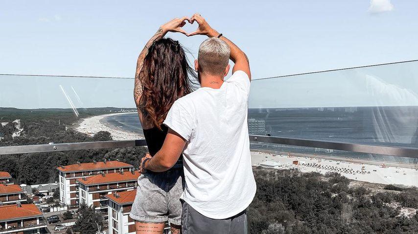 Denise und Henning Merten im Urlaub