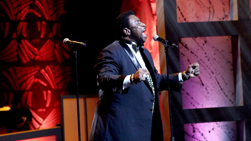 Dennis Edwards bei der NMAAM 2016 Black Music Honors Show
