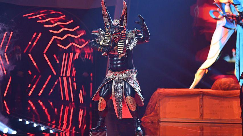 """Der Anubis im """"The Masked Singer""""-Finale 2020"""