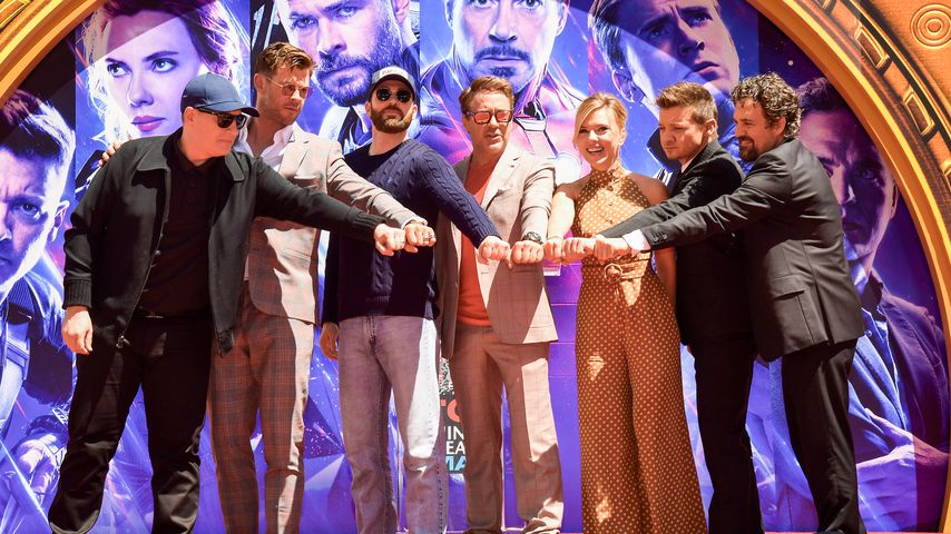 "Der ""Avengers""-Cast bei einem Event in Hollywood im April 2019"