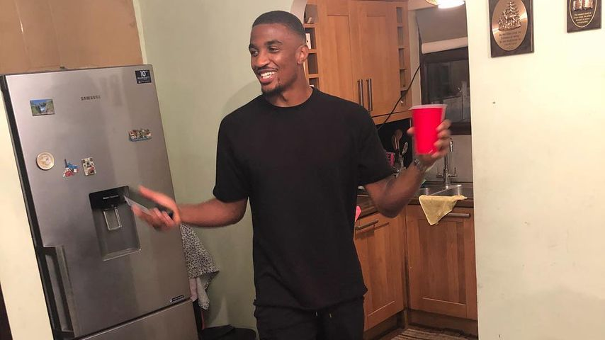 Der britische Fußball-Star Christian Mbulu