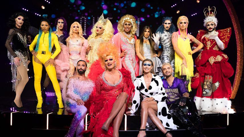 """Der Cast und die Jury von """"Queen of Drags"""""""