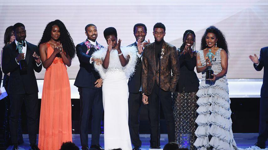"""Der Cast von """"Black Panther"""" bei den SAG Awards 2019"""