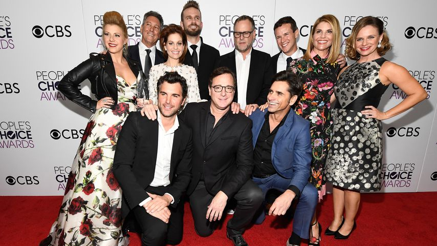 """Der Cast von """"Fuller House"""" bei den People's Choice Awards 2017"""