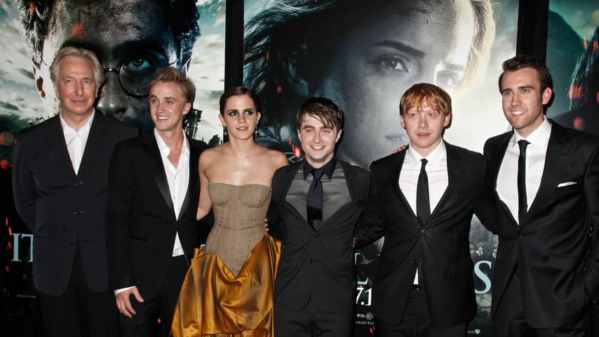 "Der Cast von ""Harry Potter"""