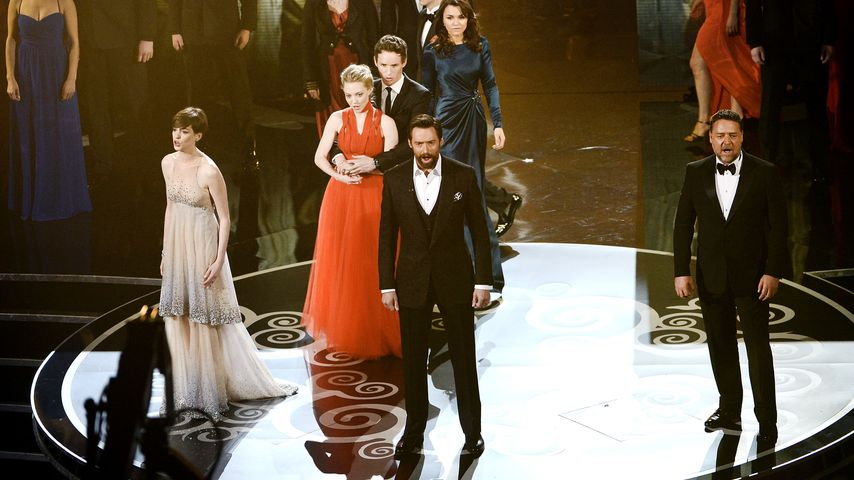 "Der Cast von ""Les Misérables"" bei der Oscar-Verleihung 2013"