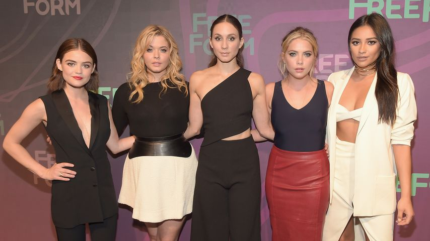 "Der Cast von ""Pretty Little Liars"""