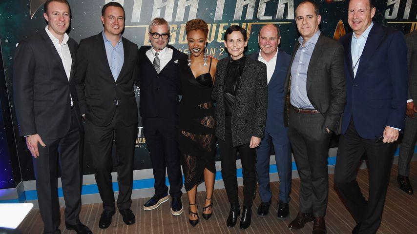 """Der Cast von """"Star Trek: Discovery"""" mit unter anderem Sonequa Martin-Green"""