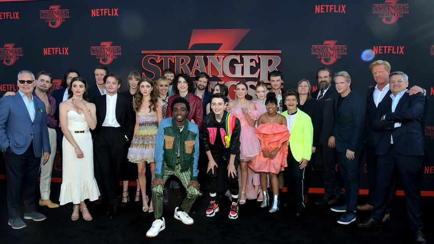 """Der Cast von """"Stranger Things"""" auf der Premiere der dritten Staffel"""
