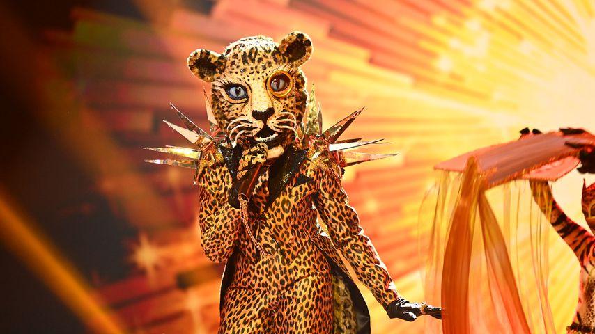 "Der Leopard bei ""The Masked Singer"""