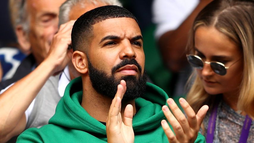 Der Rapper Drake in London 2018