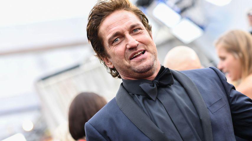 Der Schauspieler Gerard Butler bei den Oscars 2020