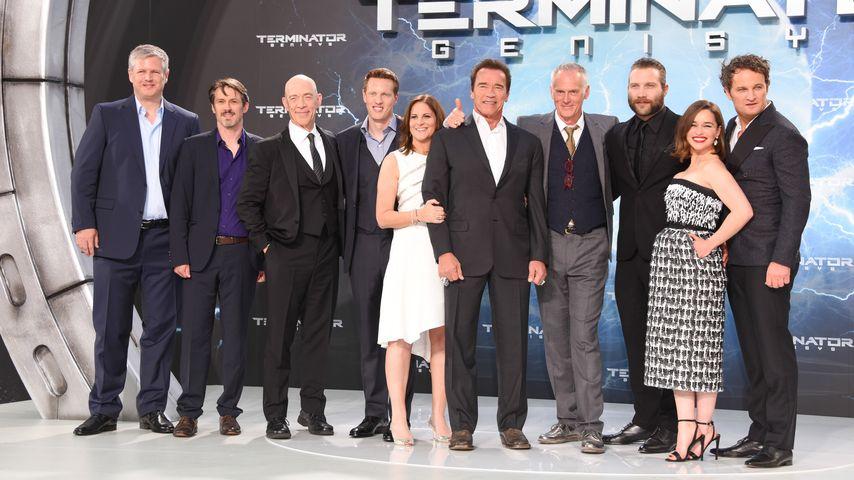 Emilia Clarke, Arnold Schwarzenegger, Jason Clarke, J.K. Simmons und Jai Courtney