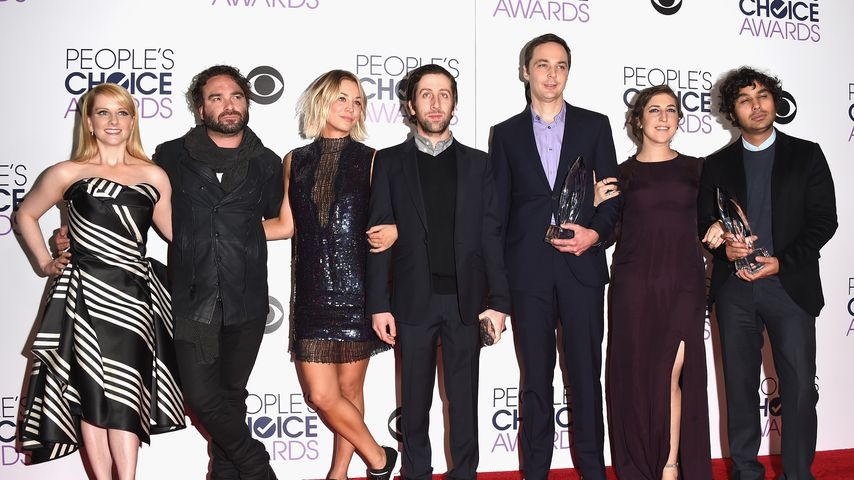 """Der """"The Big Bang Theory""""-Cast bei den People's Choice Awards, 2016"""