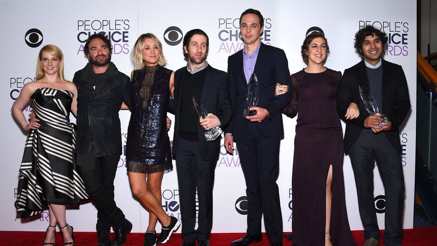 "Der ""The Big Bang Theory""-Cast bei den People's Choice Awwards 2016 in L.A."