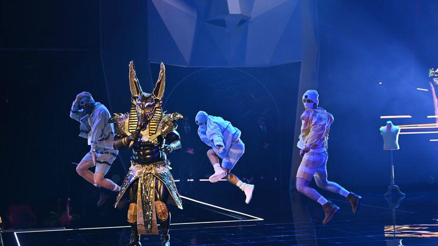 """Der """"The Masked Singer""""-Anubis"""