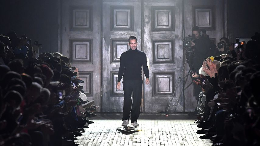 Designer Marc Jacobs während einer seiner Fashion-Shows in New York City