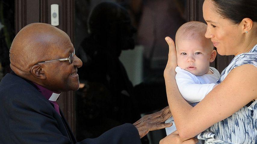Desmond Tutu, Herzogin Meghan und ihr Sohn Archie Harrison