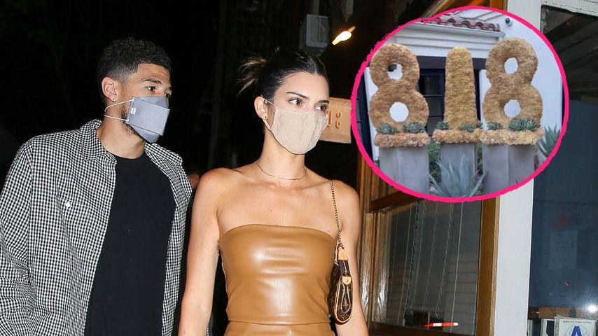 Devin Booker überrascht Freundin Kendall Jenner mit Blumen