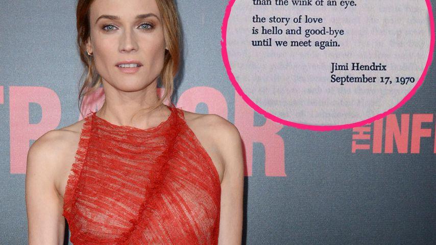 Plötzliches Aus: So reagiert Diane Kruger auf die Trennung