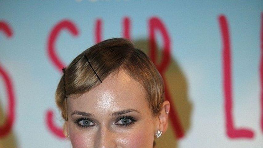 Top oder Flop? Diane Kruger im Wischmop-Kleid