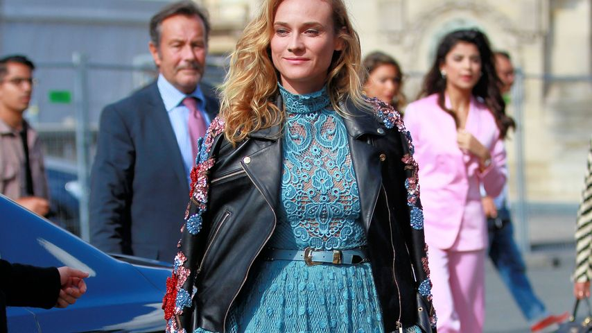 Guck mal, Joshua! So hot flaniert Diane Kruger durch Paris