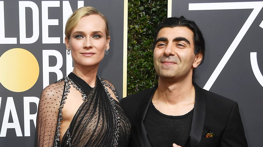 Diane Kruger und Fatih Akin bei der Golden Globe Verleihung im Jahr 2018