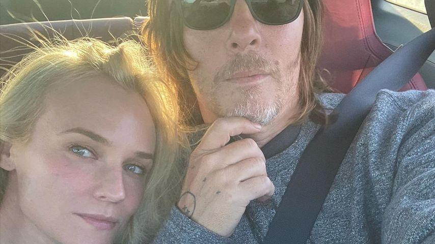 Selten: Diane Kruger widmet Norman süße Liebeserklärung
