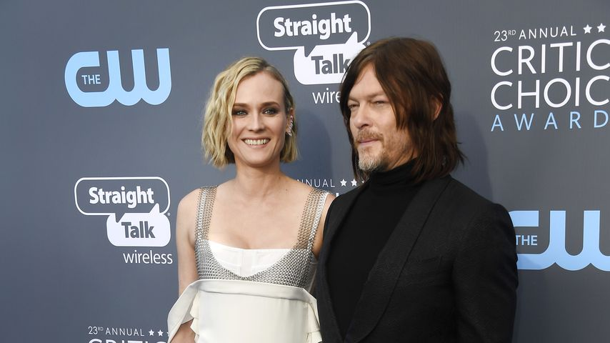 Diane Kruger und Norman Reedus bei den Critics' Choice Awards 2018