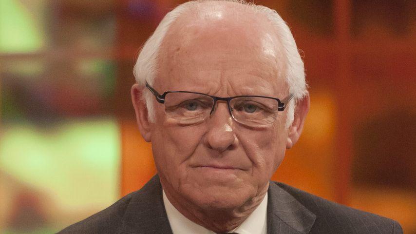 Dickie Arbiter, ehemaliger Pressesprecher der Queen