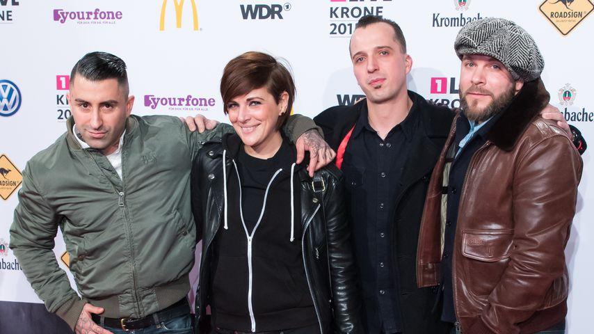 """Die Band Broilers bei der """"1Live Krone"""", 2015"""
