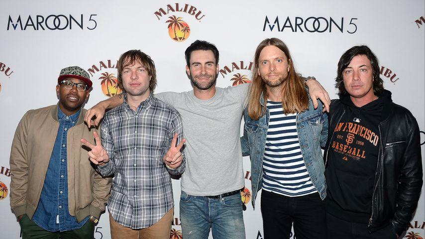 Maroon 5 im Jahr 2013