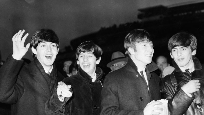 Paul McCartney, Ringo Starr, John Lennon und George Harrison im November 1963