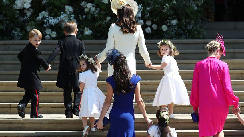 Supersüß! Mini-Hochzeitsgäste Charlotte & George begeistern