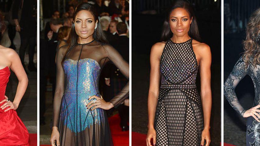 Skyfall-Premiere: Welches Bond-Girl ist stylisher?