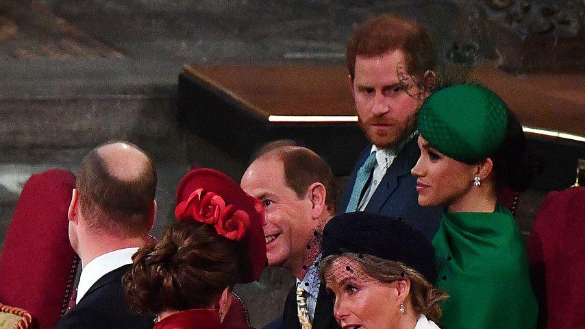 Die britischen Royals, März 2019