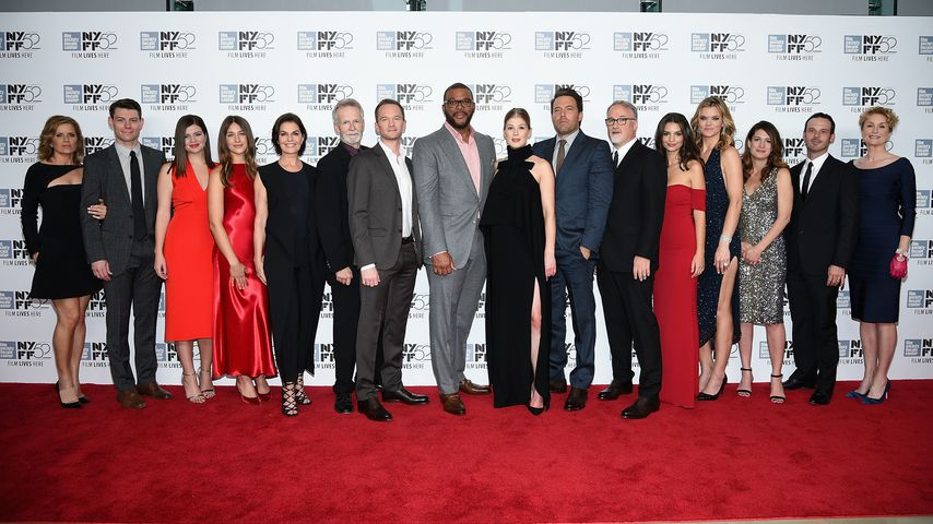 "Die Crew des Films ""Gone Girl"" bei der Premiere in New York City 2014"