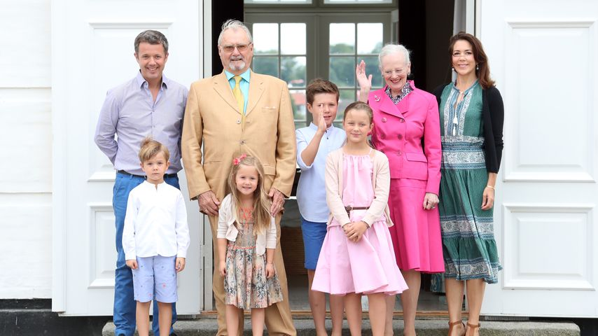 Die dänischen Royals teilen niedliche Familien-Aufnahmen