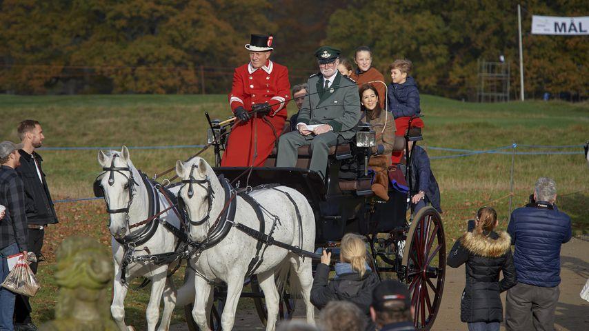 Die dänischen Royals bei der Hubertusjagd 2018