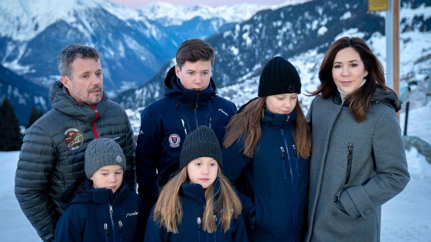 Fans entsetzt: Dänen-Royals besitzen eine eigene Ski-Lodge!