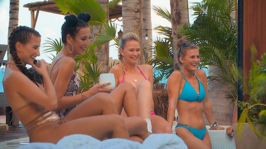 """Die """"Der Bachelor""""-Kandidatinnen Natali, Vanessa, Denise Jessica und Birgit"""