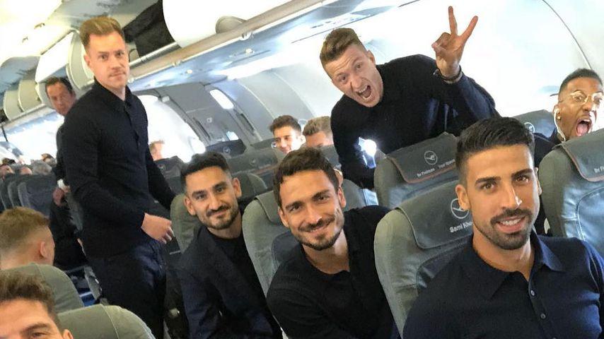 Countdown-Anpfiff: Jogis Jungs sind unterwegs nach Russland!
