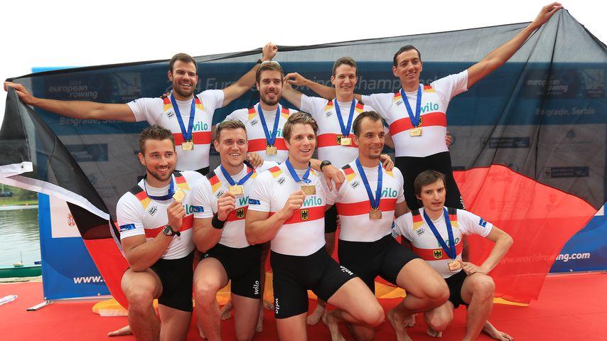 Die deutschen Ruderer bei der Europameisterschaft 2014