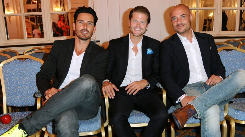 Paul Janke, Christian Tews und Jan Kralitschka
