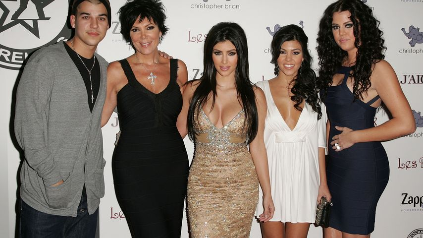Der Kardashian-Clan in Los Angeles, 2007