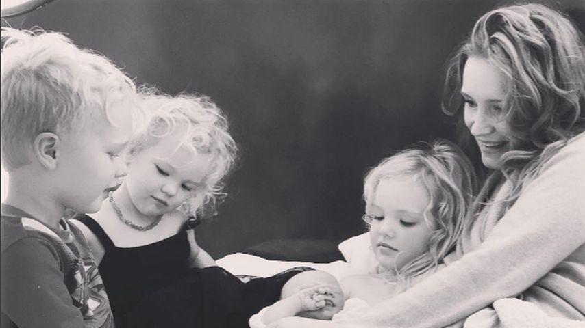 1. Baby-Foto: James Van der Beek zum 4. Mal Papa geworden!