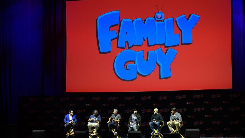 """Die """"Family Guy""""-Macher bei einer Podiumsdiskussion"""
