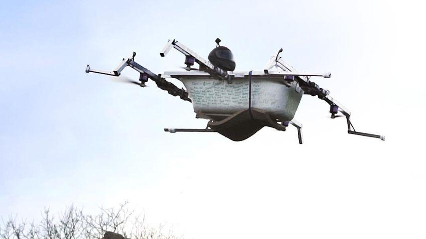 Die fliegende Badewanne, eine berühmte Konstruktion der The Real Life Guys